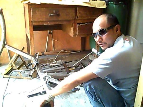 Warren welding on frame 2