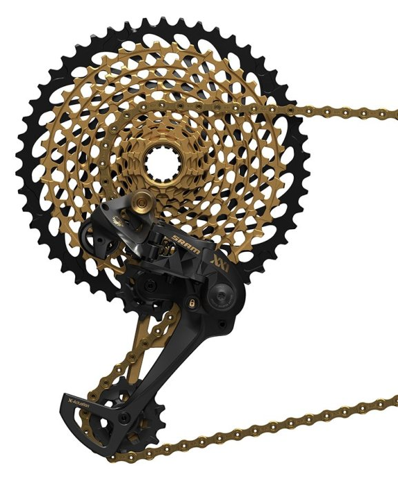 50 tooth cog on rear cassette