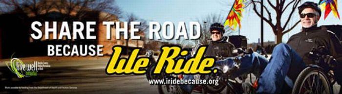 because we ride