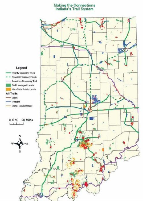 Indiana trails