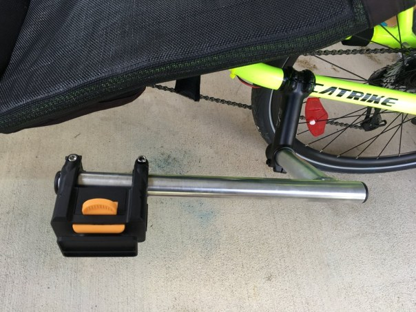 side mount bar without bag on it