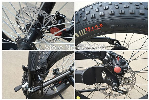 Chinese FAT tire trike misc