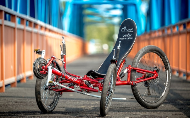 Comfort Trike red