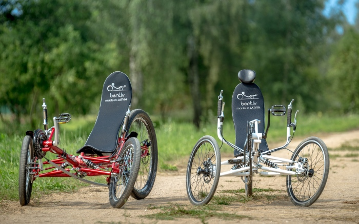 Comfort Trikes red and white