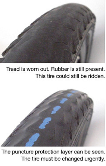 Schwalbe tire wear