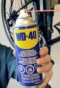 WD-40 not recommended