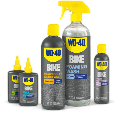 wd40 bike products
