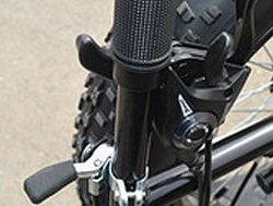 Chinese FAT tire trike shifting levers