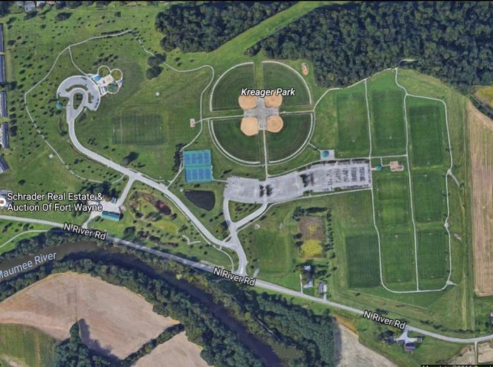kreager-park-satelite-image