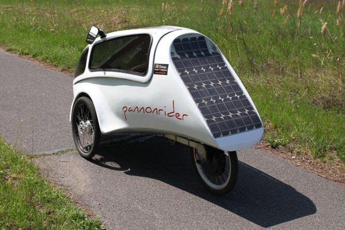 pannonrider-solar-velomobile-rear-view