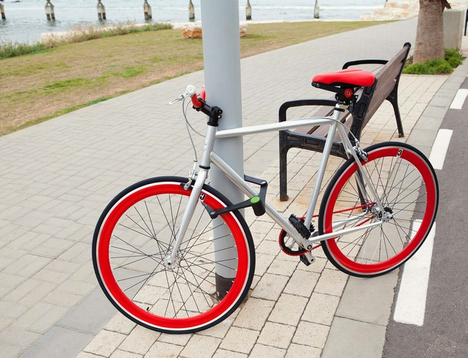 foldylock-on-bicycle