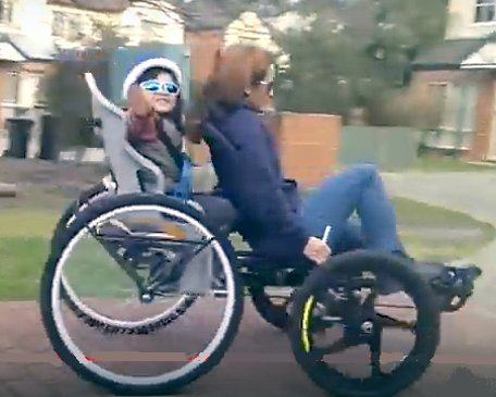 """HOMEMADE TRIKE AND QUAD FROM THE LAND """"DOWN UNDER""""   Tadpole"""