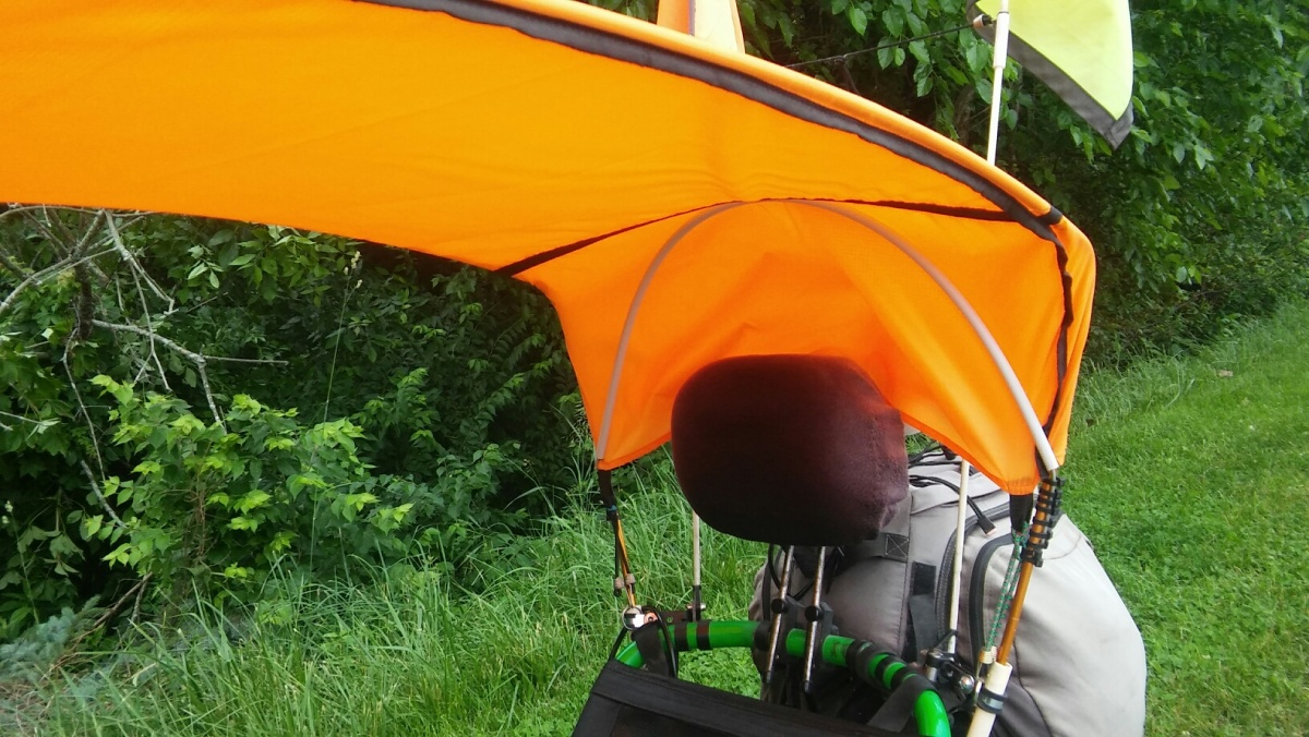 WILL A CANOPY PROTECT YOU FROM THERAIN?