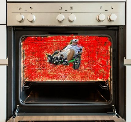 RIDING IN AN OVEN(HEAT)